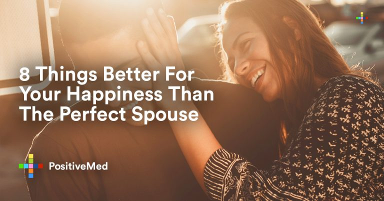 7 Things Better For Your Happiness Than The Perfect Spouse