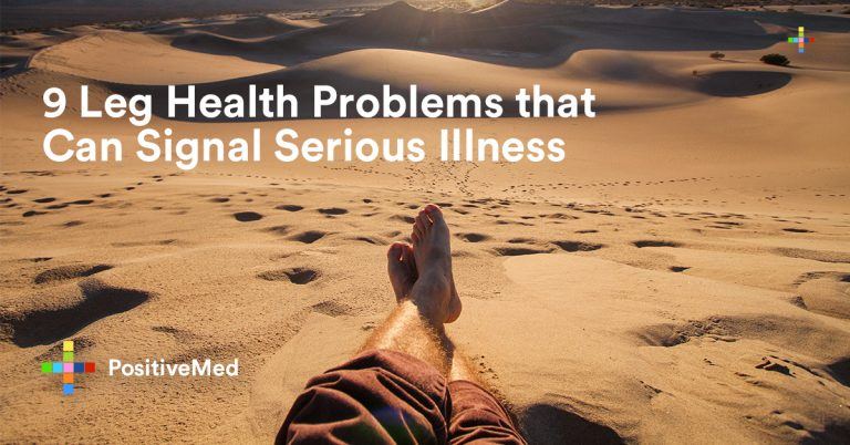 9 Leg Health Problems that Can Signal Serious Illness