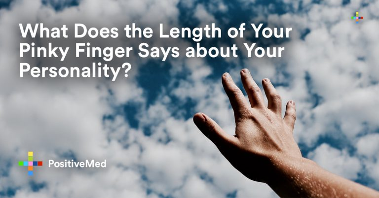 What Does the Length of Your Pinky Finger Says about Your Personality?