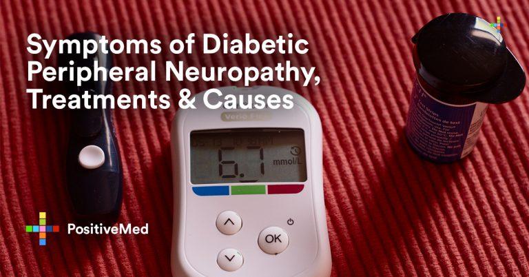 Symptoms of Diabetic Peripheral Neuropathy, Treatments & Causes