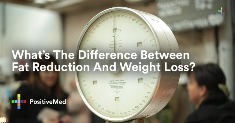 What's The Difference Between Fat Reduction And Weight Loss?