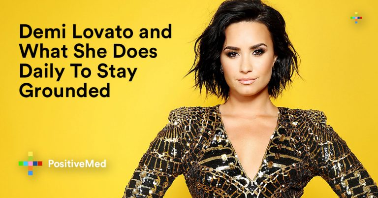 Demi Lovato: What She Does Daily To Stay Grounded