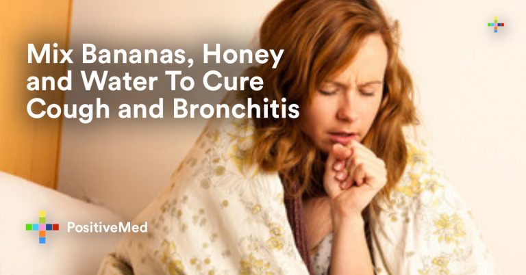 Mix Bananas, Honey and Water To Cure Cough and Bronchitis