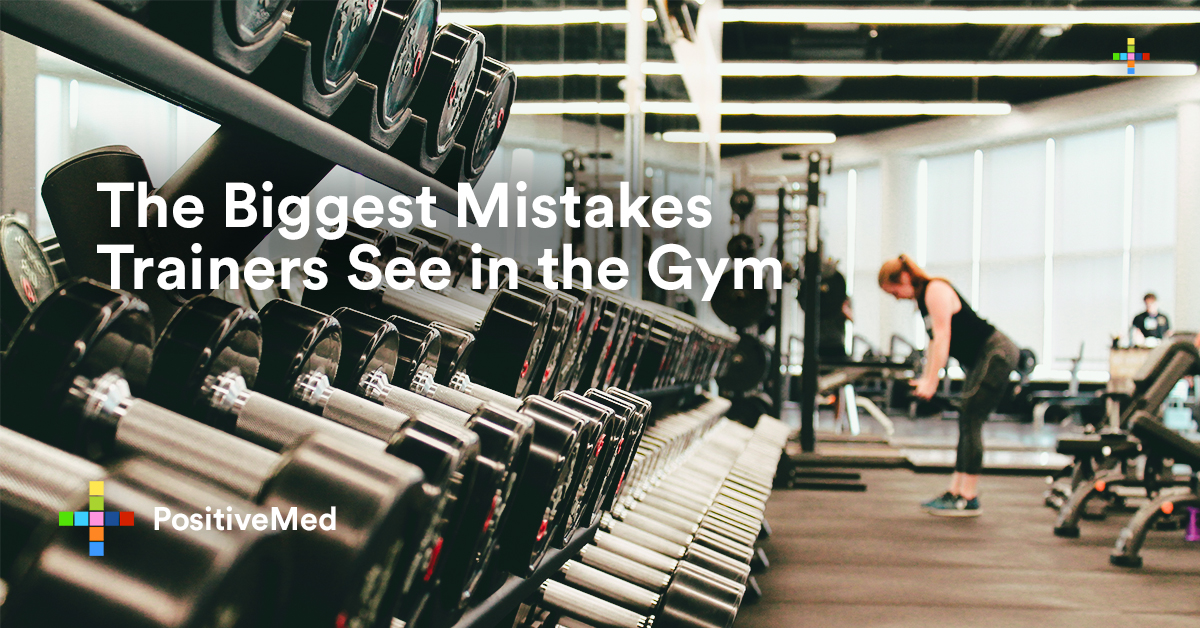 The Biggest Mistakes Trainers See in the Gym