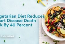 Vegetarian Diet Reduces Heart Disease Death Risk By 40 Percent