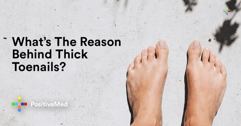 What's The Cause Behind Thick Toenails?