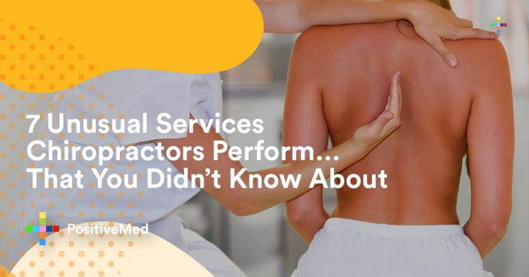 7 Unusual Services Chiropractors Perform That You Didn't Know About