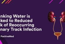 Drinking Water is Linked to Reduced Risk of Reoccurring Urinary Track Infection