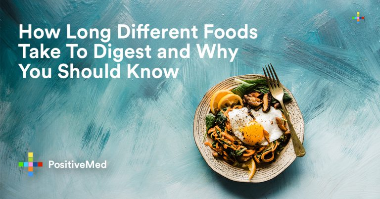 How Long Different Foods Take to Digest and Why You Should Know This