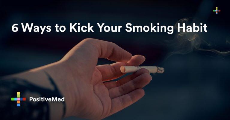 6 Ways to Kick Your Smoking Habit