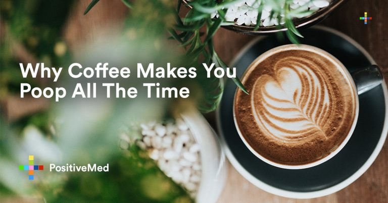 Why Coffee Makes You Poop All The Time