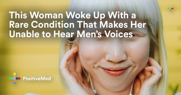 This Woman Woke Up With a Rare Condition That Makes Her Unable to Hear Men's Voices