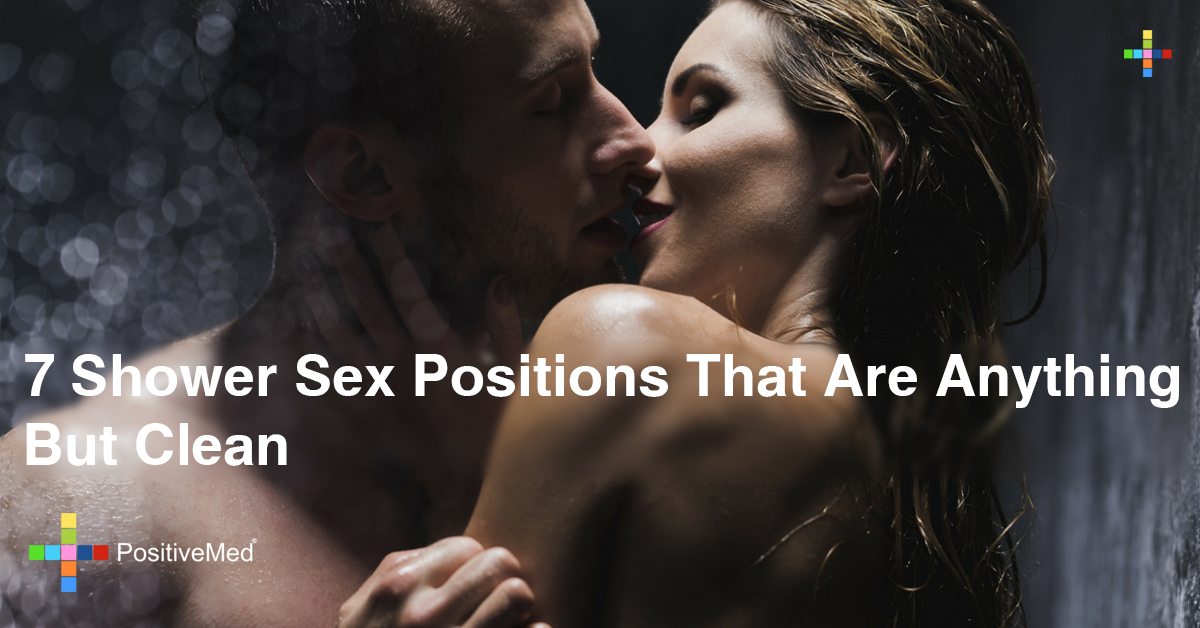 7 Shower Sex Positions That Are Anything But Clean