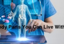 7 Body Parts You Can Live Without
