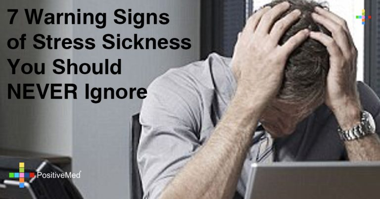 7 Warning Signs of Stress Sickness You Should NEVER Ignore