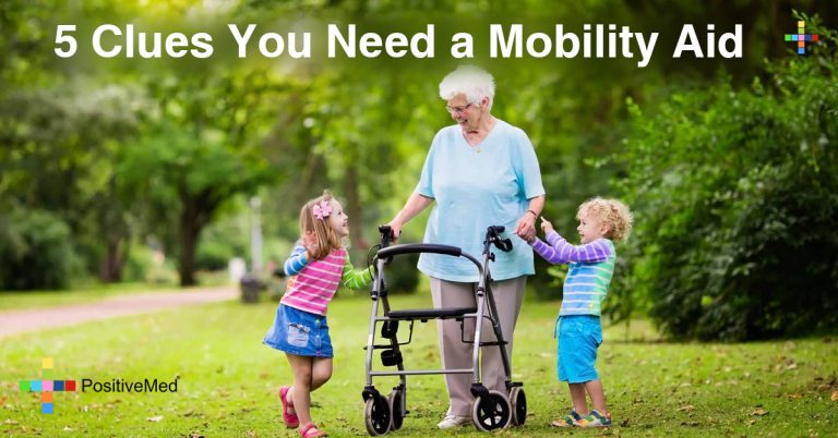 5 Clues You Need a Mobility Aid