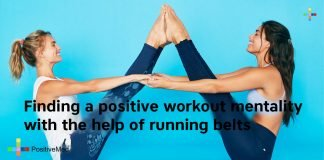 Finding a positive workout mentality with the help of running belts
