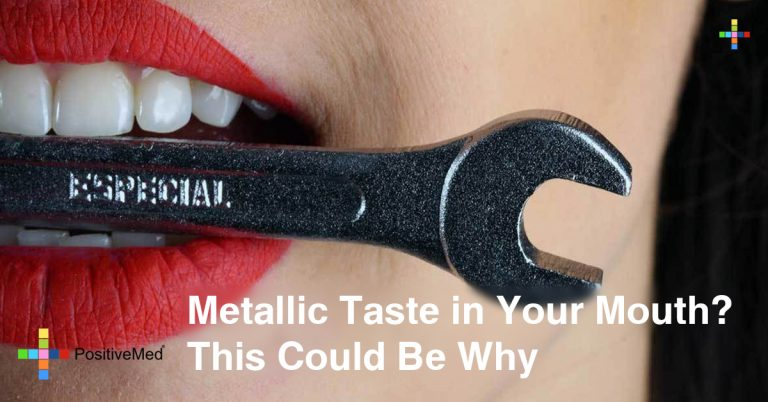 Metallic Taste in Your Mouth? This Could Be Why