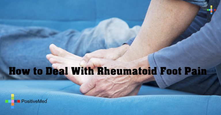 How to Deal With Rheumatoid Foot Pain