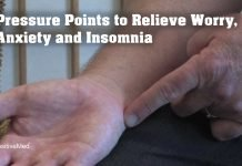 Pressure Points to Relieve Worry, Anxiety, and Insomnia