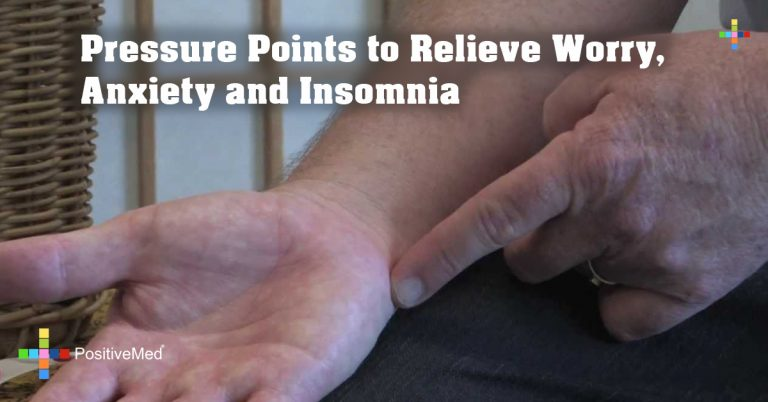 Pressure Points to Relieve Worry, Anxiety and Insomnia