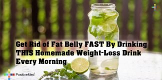 Get Rid of Fat Belly FAST By Drinking THIS Homemade Weight-Loss Drink Every Morning