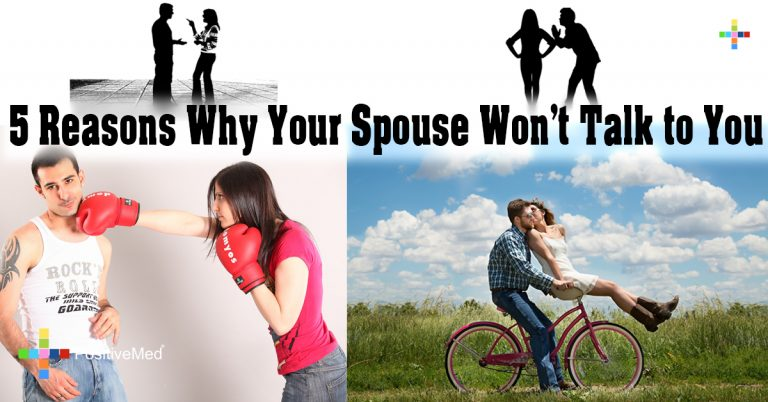 5 Reasons Why Your Spouse Won't Talk to You