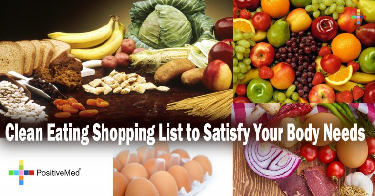Clean Eating Shopping List to Satisfy Your Body Needs