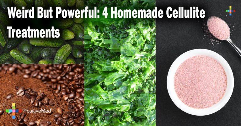 Weird But Powerful: 4 Homemade Cellulite Treatments