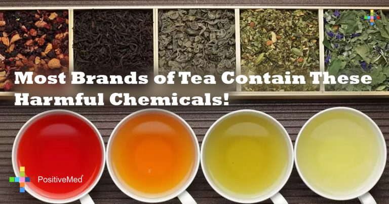 Most Brands of Tea Contain These Harmful Chemicals!