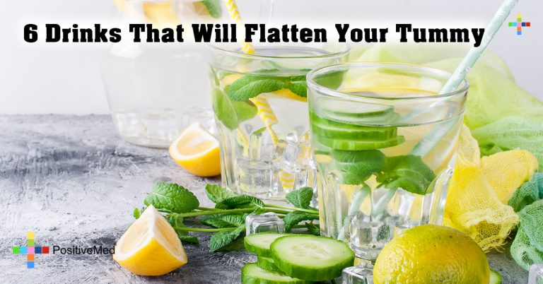 6 Drinks That Will Flatten Your Tummy