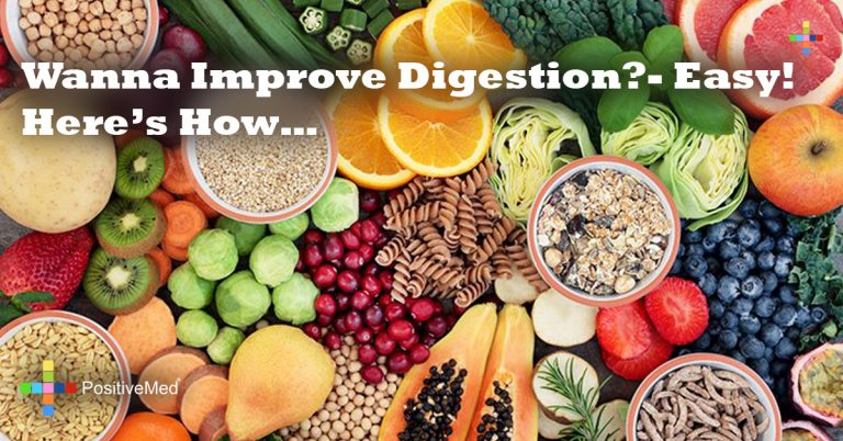 Wanna Improve Digestion?- Easy! Here's How…