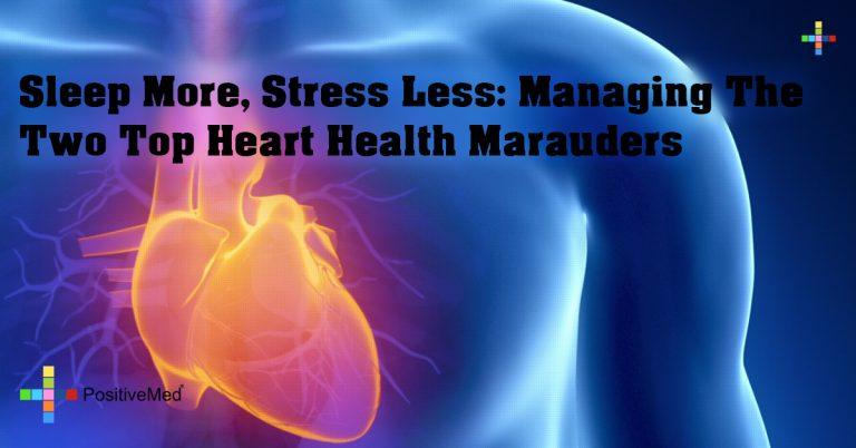 Sleep More, Stress Less: Managing the Two Top Heart Health Marauders