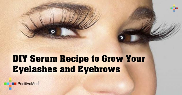DIY Serum Recipe to Grow Your Eyelashes and Eyebrows