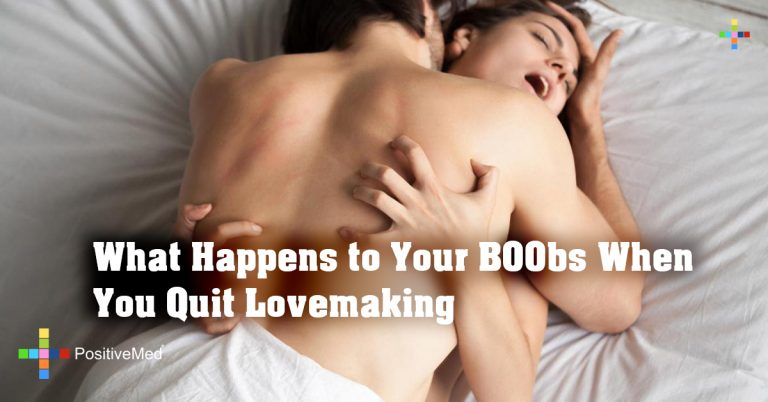What Happens to Your B00bs When You Quit Lovemaking