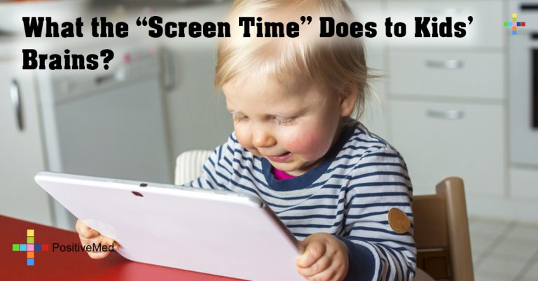 "What the ""Screen Time"" Does to Kids' Brains?"