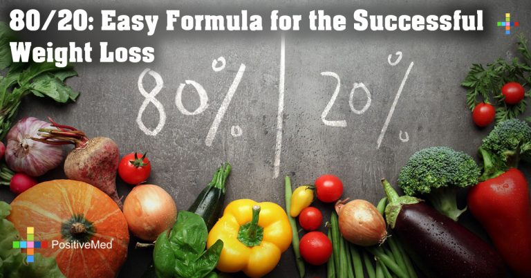 80/20: Easy Formula for the Successful Weight Loss