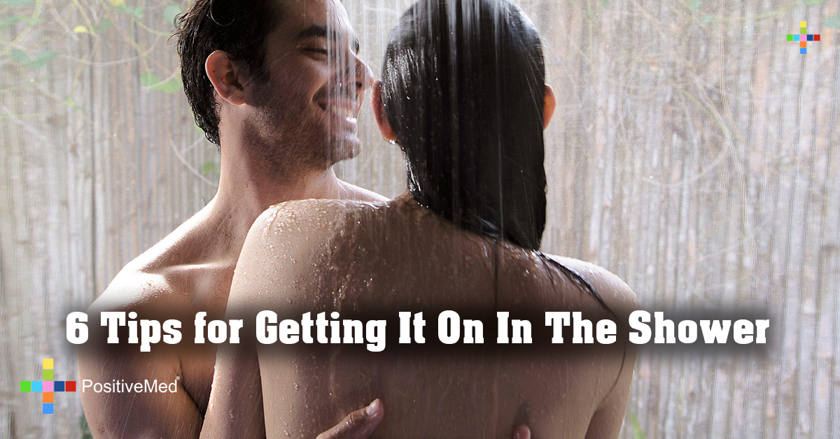 6 Tips for Getting It On In The Shower