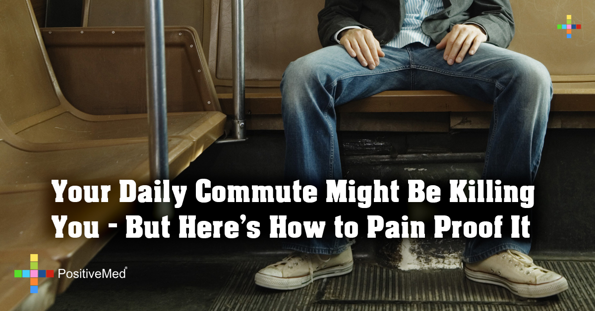 Your Daily Commute Might Be Killing You – But Here's How to Pain Proof It