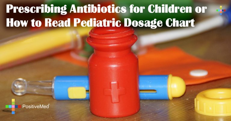 Prescribing Antibiotics for Children or How to Read Pediatric Dosage Chart