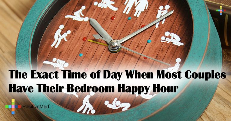 The Exact Time of Day When Most Couples Have Their Bedroom Happy Hour