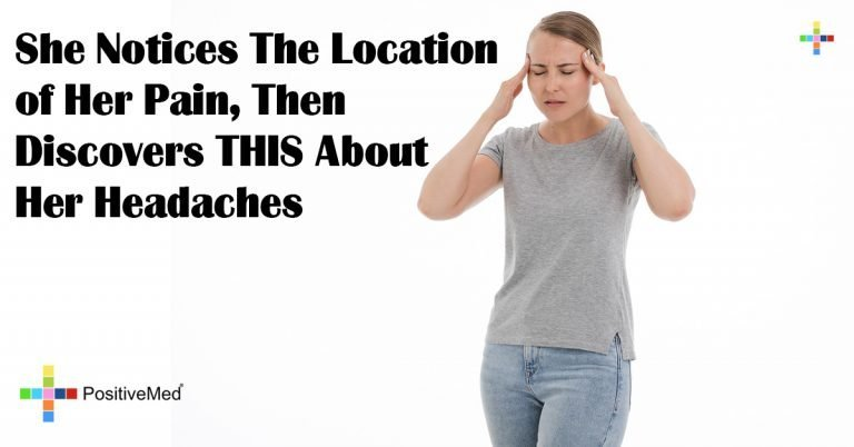 She Notices The Location of Her Pain, Then Discovers THIS About Her Headaches