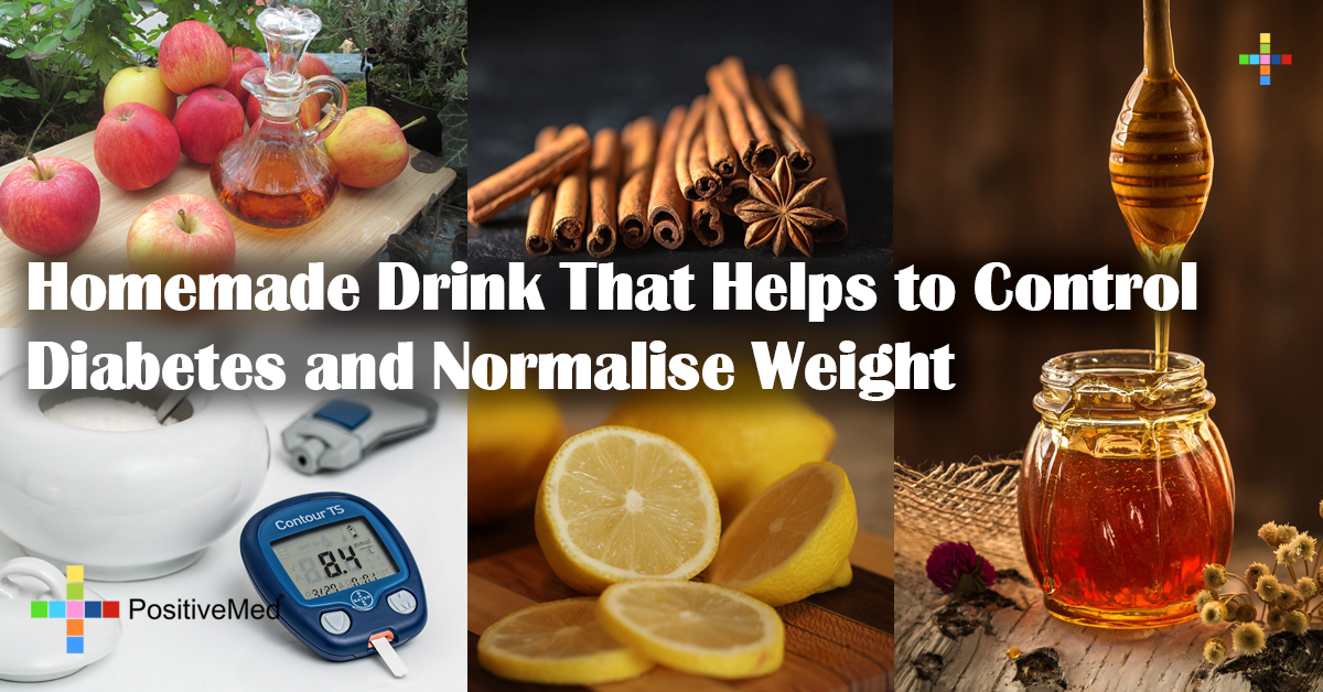 Homemade Drink That Helps to Control Diabetes and Normalise Weight