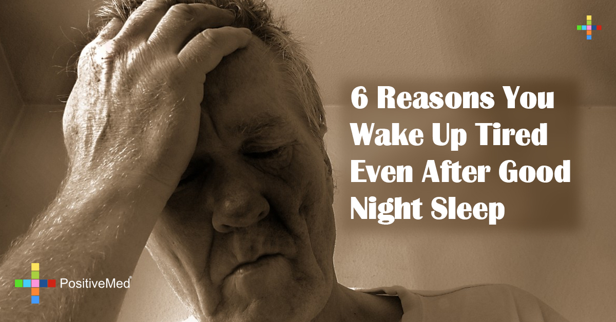 6 Reasons You Wake Up Tired Even After Good Night Sleep