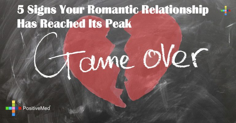 5 Signs Your Romantic Relationship Has Reached Its Peak
