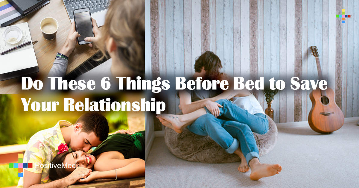 Do These 6 Things Before Bed to Save Your Relationship