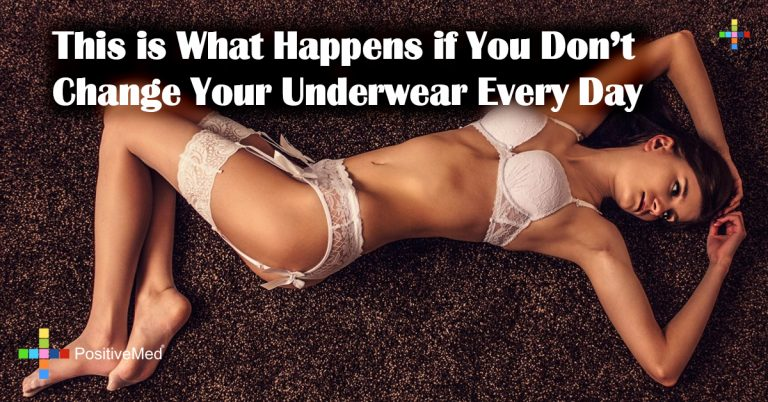 This is What Happens if You Don't Change Your Underwear Every Day