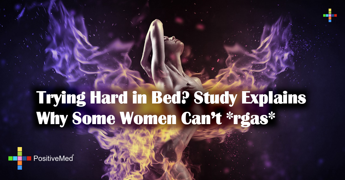 Trying Hard in Bed? Study Explains Why Some Women Can't *rgas*