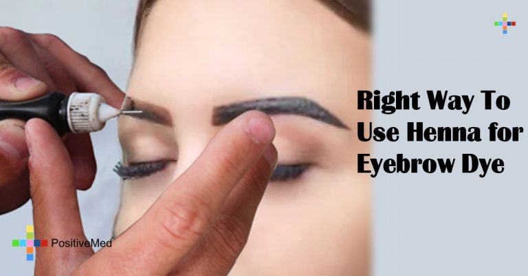 Right Way To Use Henna for Eyebrow Dye