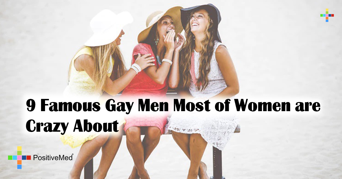 9 Famous Gay Men Most of Women are Crazy About